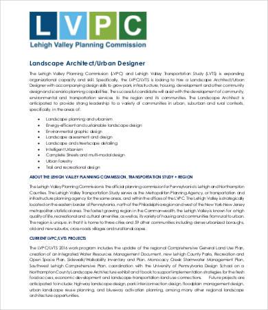 sample landscaping job description