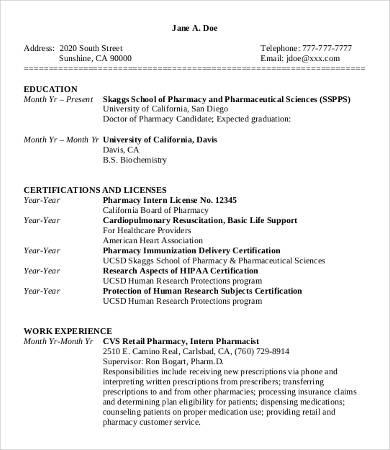 10 Sample Retail Resume Templates  PDF DOC  Free  Premium Templates