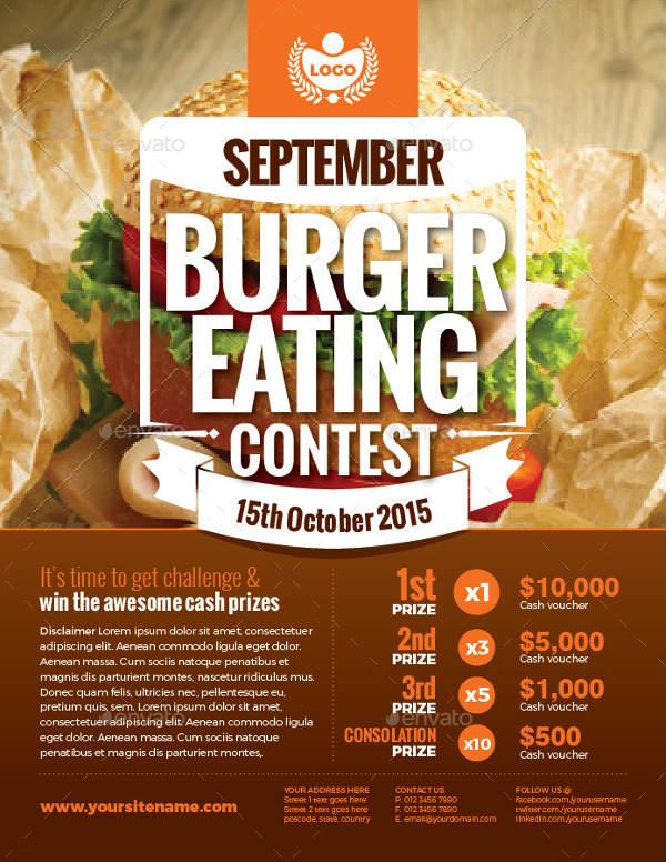 9+ Beautiful Contest Flyer Templates  Free & Premium