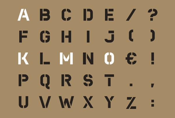 printable stencils letters