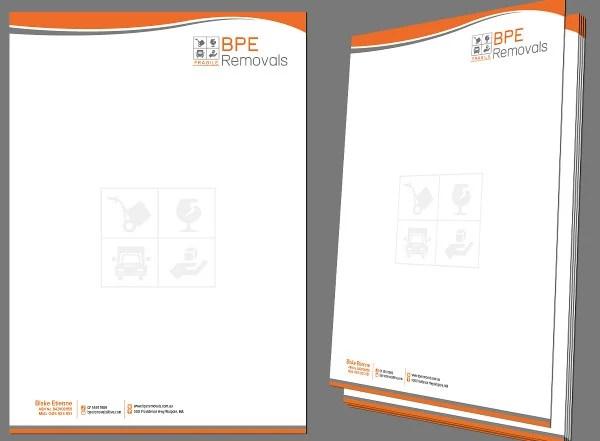 14 Company Letterhead Designs  Free PSD AI Word Format