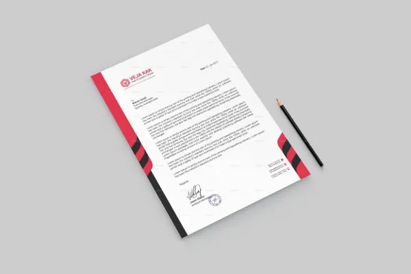 14 Company Letterhead Designs Free PSD AI Word Format