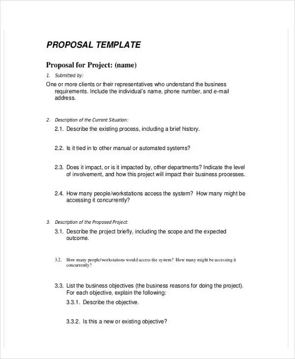 19 Business Proposal Templates In Word Free & Premium