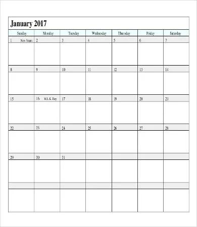 Printable Calendar Pages | Free & Premium Templates