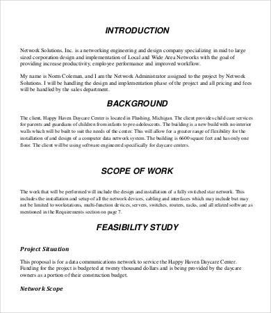 Design Proposal - 8+ Free Word, PDF Documents Download | Free ...