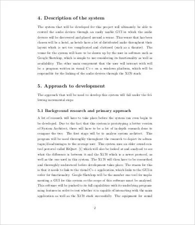 12 Research Proposal Samples Free Sample Example Format Free