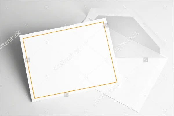 9+ Blank Thank You Cards - Free Sample, Example, Format | Free ...