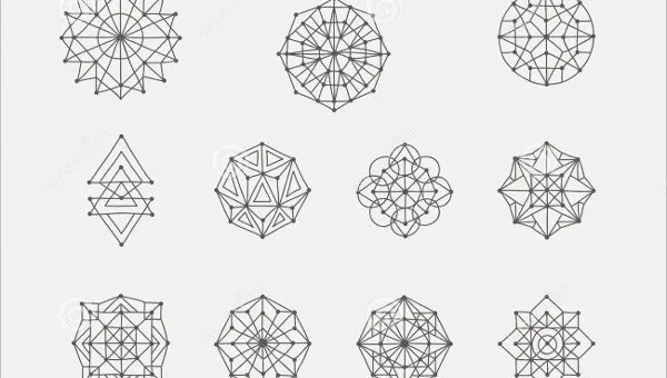 Geometric Shapes 8 Free Psd Vector Eps Format Download Free