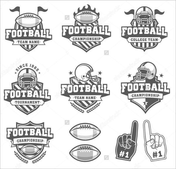 8+ Football Logos Printable PSD, AI, Vector EPS Format
