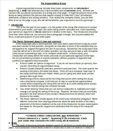 Microsoft Word Essay Template  9 Free Word Documents Download  Free  Premium Templates