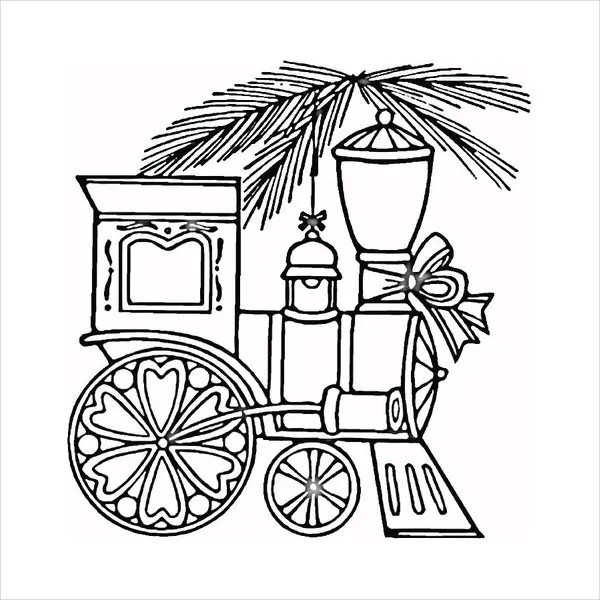 train coloring # 36
