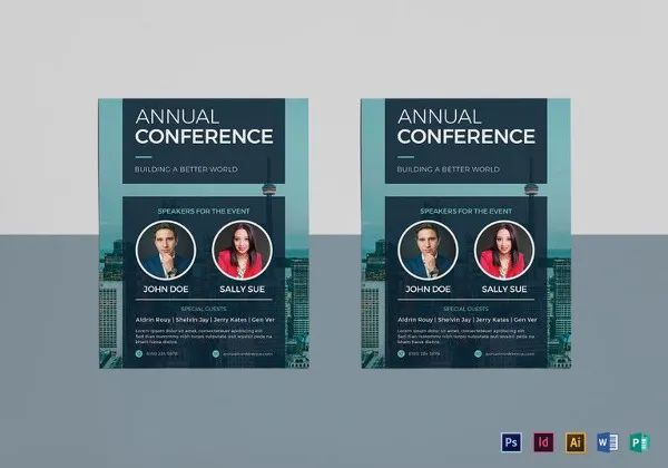 conference flyer templates free