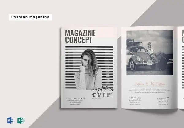 15 Fashion Magazine Template  Free Sample Example Format Download  Free  Premium Templates
