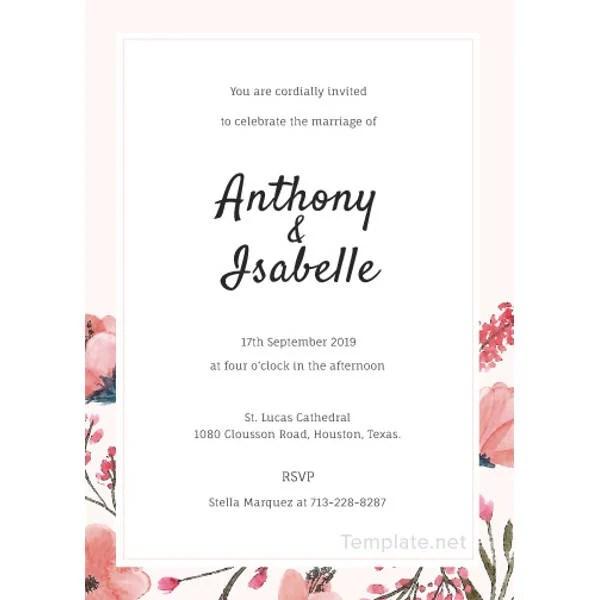 22 free wedding invitation templates