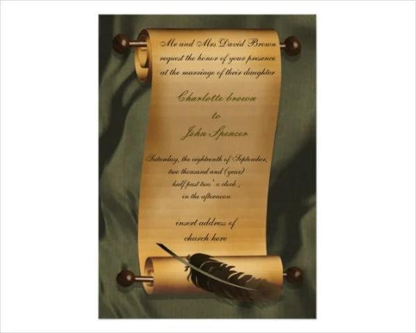 52 Wedding Invitation Designs  Templates  PSD AI  Free  Premium Templates