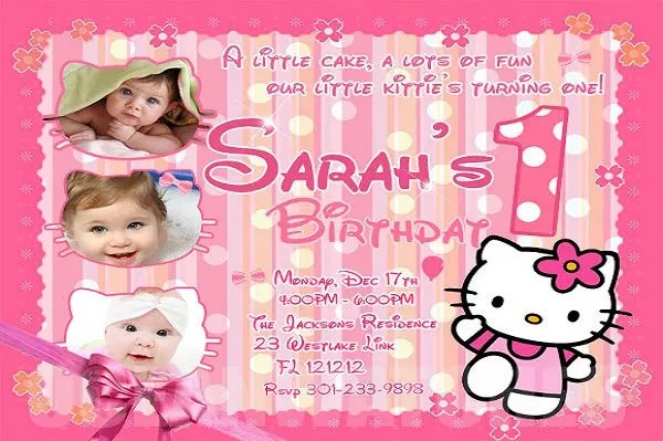 sample birthday invitation templates