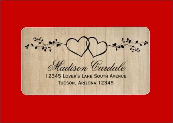11 wedding address labels