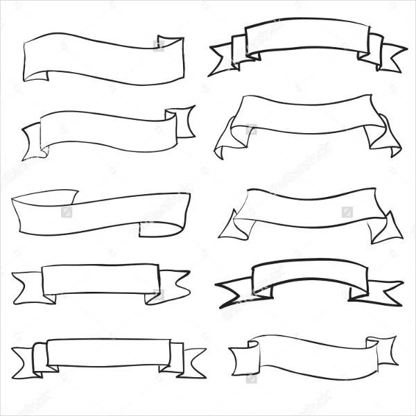 9 ribbon banners jpg psd ai illustrator download free