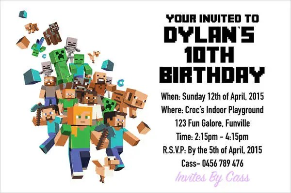 Printable 50th Invitations