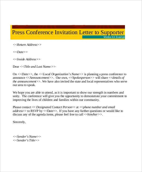 32 Formal Letter Templates PDF DOC Free & Premium