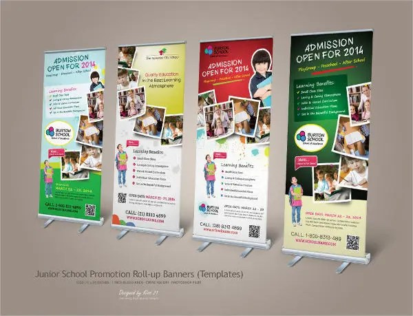 9 School Banners JPG PSD AI Illustration Download
