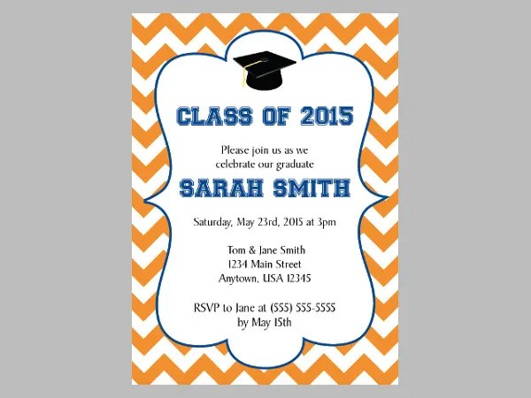 Personalized Graduation Invitations 2017