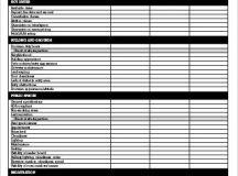 Venue Checklist Templates - 7+ Free Word, PDF Documents ...