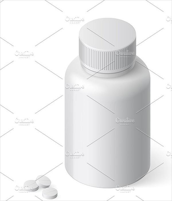 pill bottle labels templates