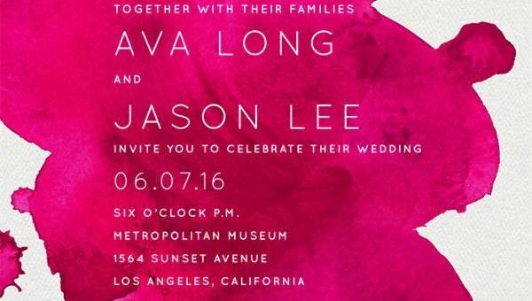 8 Wedding E Mail Invitation Templates Psd Ai Word