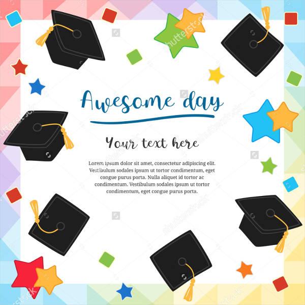 9 Graduation Greeting Cards PSD AI Google Docs Apple
