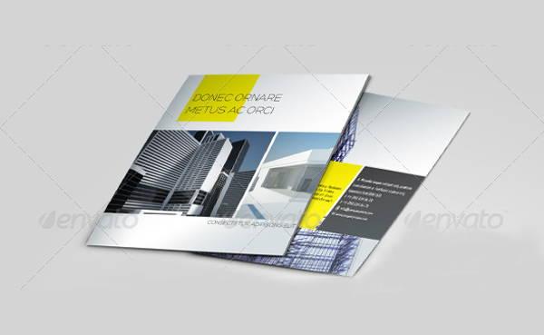 9 Construction Brochures Editable PSD AI Vector EPS Format