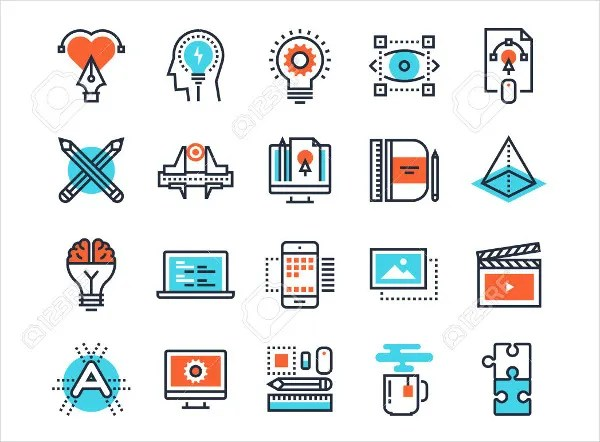 7 business process icons