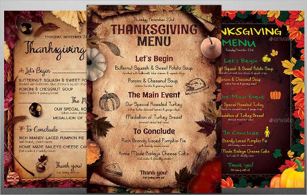 restaurant menu design templates free