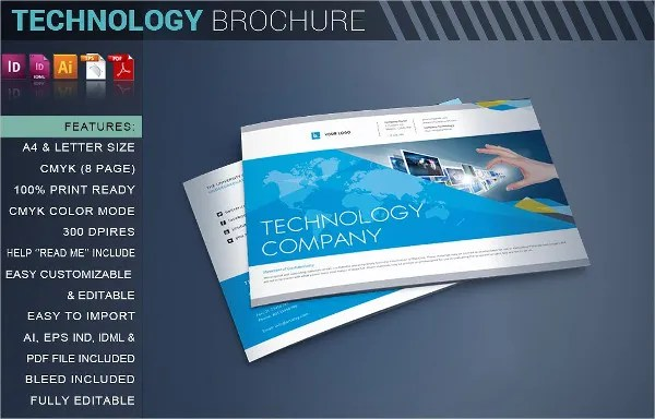 9 Technology Brochures Editable PSD AI Vector EPS Format Download Free Amp Premium Templates