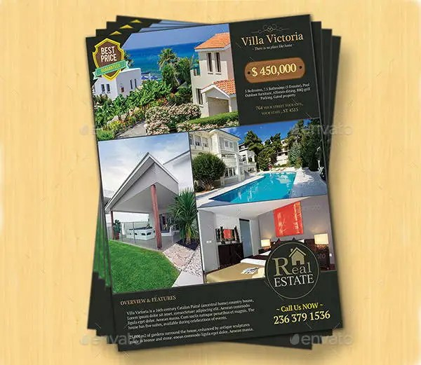 12 Real Estate Sale Flyers Word PSD AI Vector EPS Free Amp Premium Templates