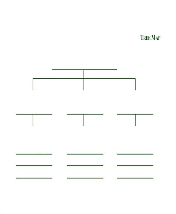 blank tree diagram graphic organizer 2001 ford ranger motor map template 6 free pdf documents download premium printable