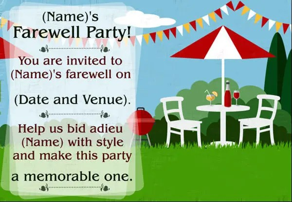16+ Farewell Lunch Invitation - JPG. Vector EPS. PSD. AI. Word | Free & Premium Templates
