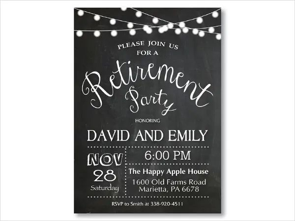 farewell invitation templates free