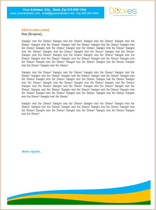 15 small business letterhead