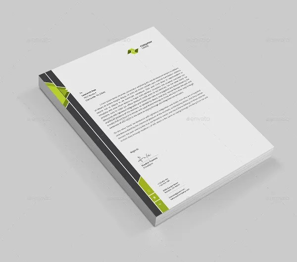 7 Cleaning Company Letterhead Templates  PSD  Free  Premium Templates