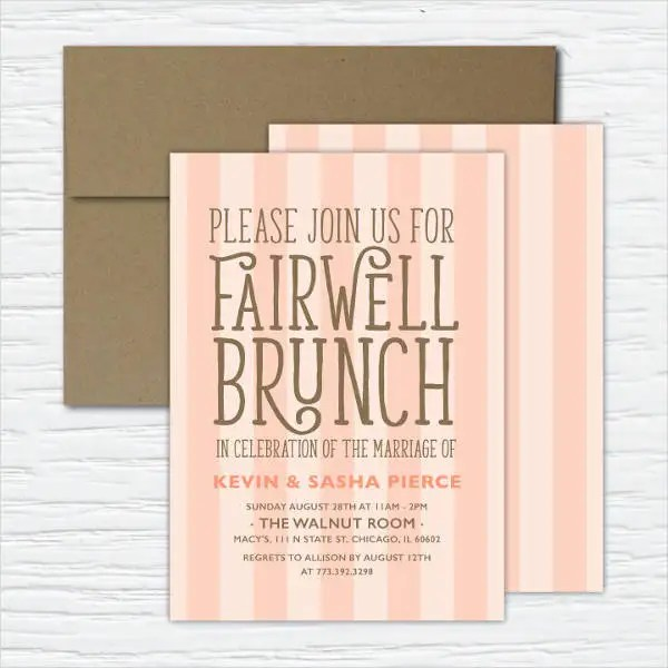 Team Lunch Party Invitation Email