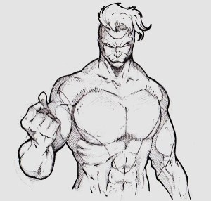 superhero drawing super drawings heroes template cool projection splitting superheroes sketches outline templates xvideos defense core flash character power format