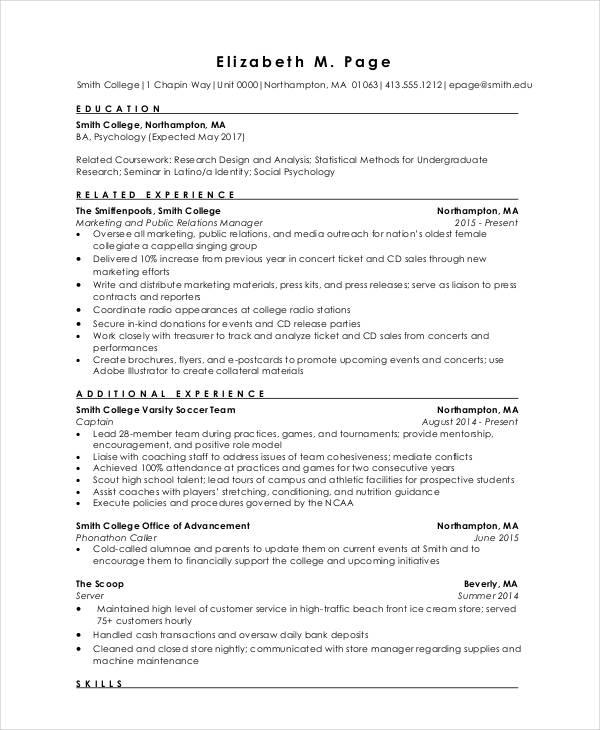 Engineering Resume Templates Word Resume Sample