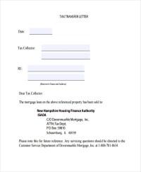13+ Property Transfer Letter Templates - PDF, DOC | Free ...