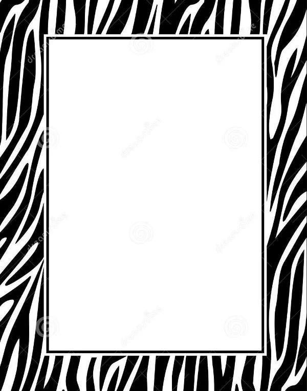 Animal Print Wallpaper Border 9 Zebra Patterns Psd Vector Eps Png Format Download