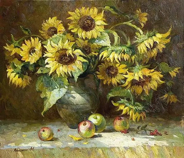 9 Sunflower Paintings  Free  Premium Templates  Free