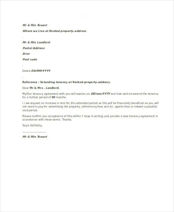 Agreement Letter Templates - 11+ Free Sample, Example, Format ...