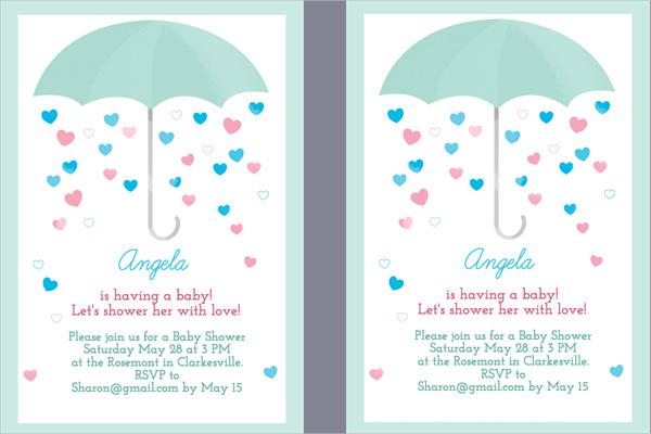 19 Baby Shower Invitation Templates Word Psd Ai Free