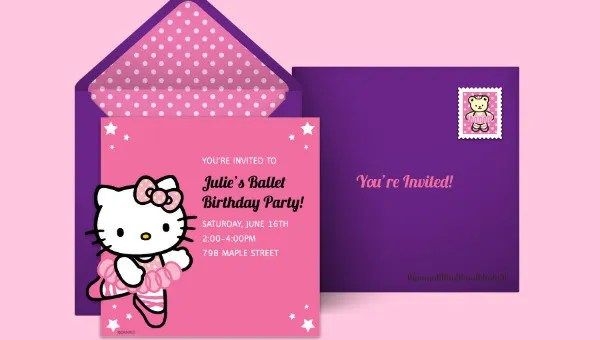 16 kitty party invitation designs