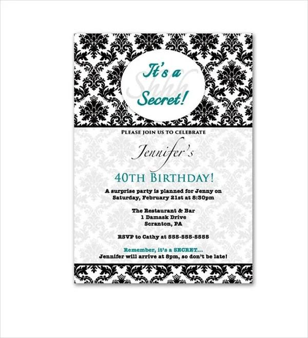 39+ Invitation Designs  Psd, Vector Ai, Eps  Free